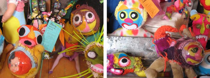 Handmade Plush by David Wolk and Cranky Yellow