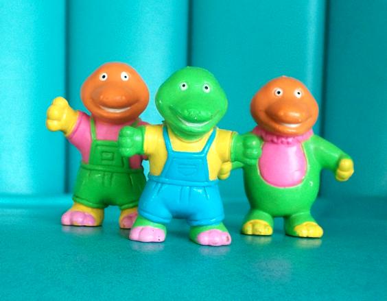 Three Soma Dinosaurs