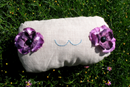 Flower Eye Pillow by Cate Anevski