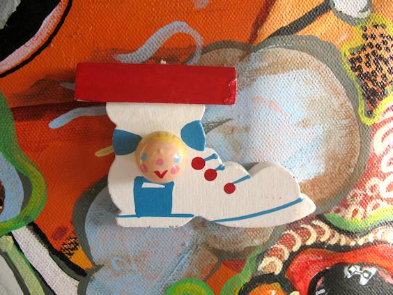 Boy in Shoe Charm
