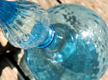 Azure Decorative Decanter