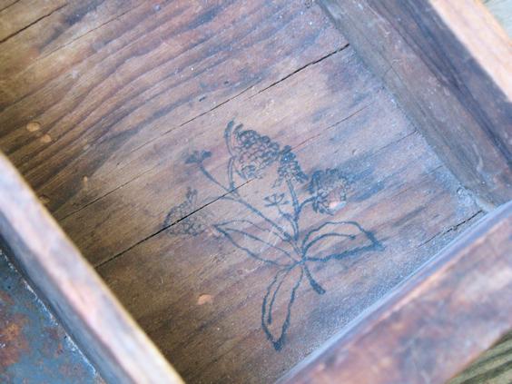 Antique Wooden Cash Drawer
