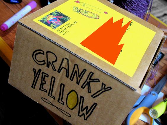 Cranky Yellow Reused Box - Shipment