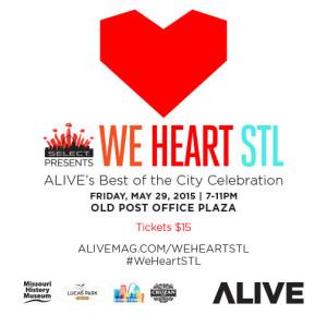 We Heart STL Celebration