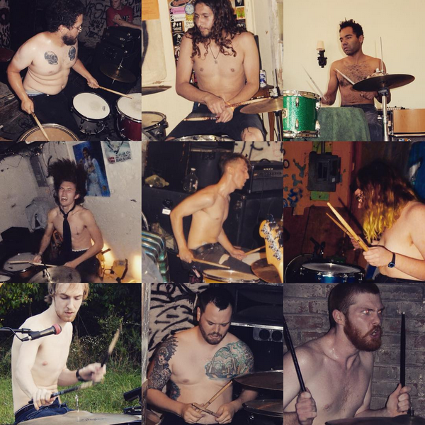 12 drummers photo exhibit